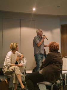 Bože Klapež prezentirao je svoj dugogodišnji rad na tretmanu ovisnosti i problema mentalnog zdravlja