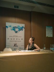 """Konferenciju je moderirala Greta Grakalić Rački iz Udruge """"Vida"""""""
